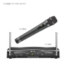 TOA WS-5225 WM-5225 and a diversity wireless tuner WT-5810.  The WM-5225 wireless microphone employs an electret condenser microphone capsule and is suitable for any applications.  Thanks to the PLL-synthesizer system, 64 different operating frequenc