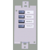 ASHLY WR-2 4-Positon Preset Recall Wallplate Remote