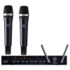 "AKG  DMS70 Q Vocal Set Dual ไมโครโฟนไร้สาย DSR70 receiver,2x DHT70 Handheld D5,19"" rack mount"