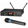 Audio-Technica ATW-1102ATW-2120 ไมค์ลอย UHF Wireless Systems Receiver and handheld cardioid dynamic microphone/transmitter.