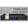 TASCAM CD-200I เครื่องเล่น ซีดี CD player with a dock for Apple's iPod® music player