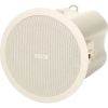"QSC AD-C42T-WH ลำโพงติดเพดาน Ceiling speaker, 4"" weather-resistant, 2 way, with 70V/100V transformer and 8Ω bypass"