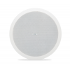 "QSC AD-C6T-LP ลำโพงเพดาน 6.5"" Two-way low-profile ceiling speaker, 70/100v transformer with 16Ω bypass, 135° conical DMT coverage, includes C-ring and rails for blind mount installation. Priced individually but must be purchased in pai"