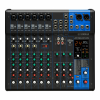 YAMAHA MG12XUK มิกเซอร์ 12-Channel Mixing Console: Max. 6 Mic / 12 Line Inputs (6 mono + 3 stereo) / 1 Stereo Bus / 1 AUX (incl. FX)