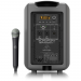 Behringer MPA200BT  ตู้ลำโพง All-in-One Portable 200-Watt Speaker with Wireless Microphone, Remote Control via Smart Phone, Bluetooth Audio Streaming and Battery