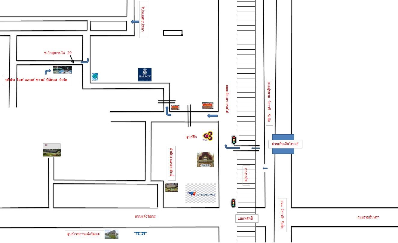 แผนที่ บริษัท ไลท์ แอนด์ ซาวด์ บิสิเนส จำกัด