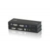 ATEN CE604 USB DVI Dual View KVM Extender with Audio and RS-232 (60m)