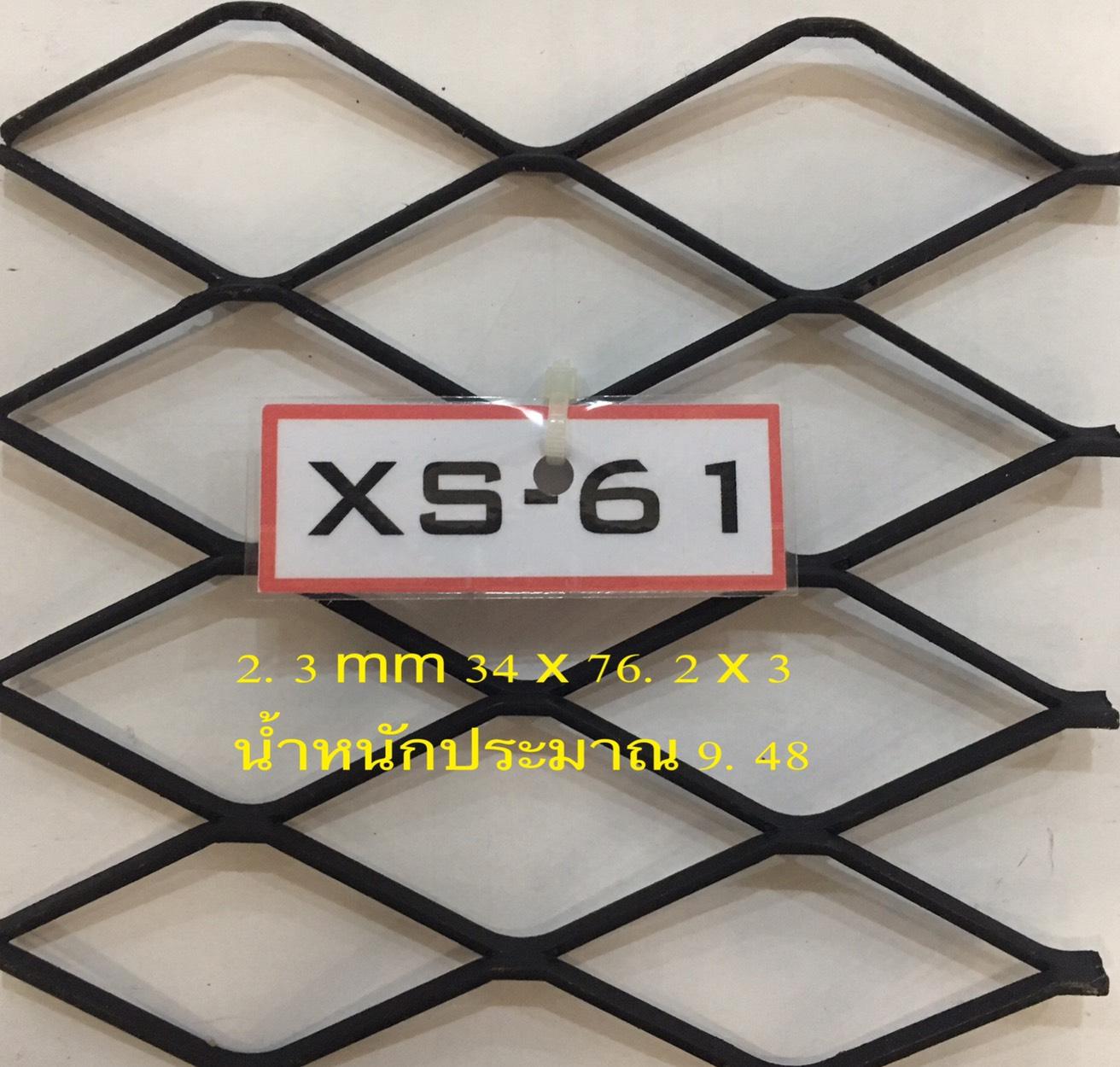 ตะแกรงเหล็กฉีกXS61