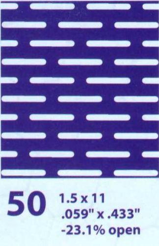 เหล็กแผ่นเจาะรู50