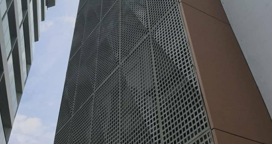ตะแกรงเจาะรูสี่เหลี่ยม 50x50mm