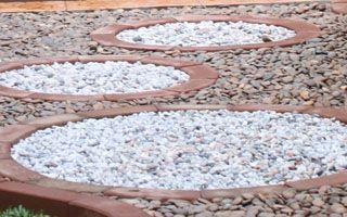 หินแม่น้ำ สีเทา