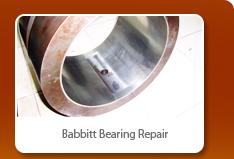 Babbitt Bearing Repair
