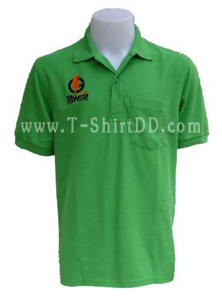 เสื้อโปโล  TK   Logcabin