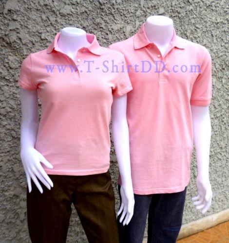 T-ShirtDD เสื้อยืดคอปก ( สำเร็จรูป ) ลาครอส  Cotton100% เกรด A  สำหรับงานเร่งด่วน