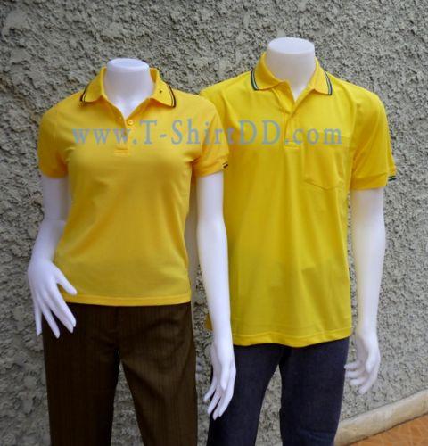 T-ShirtDD เสื้อยืดคอปก(สำเร็จรูป) เนื้อผ้า Micro มี Stock พร้อมใช้สำหรับงานเร่งด่วน