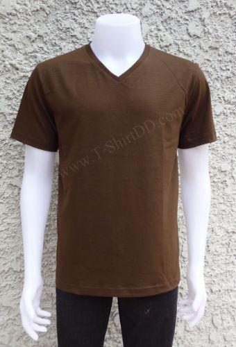 Tshirt คอวี  เนื้อผ้า Coton 100%  Premium Grade