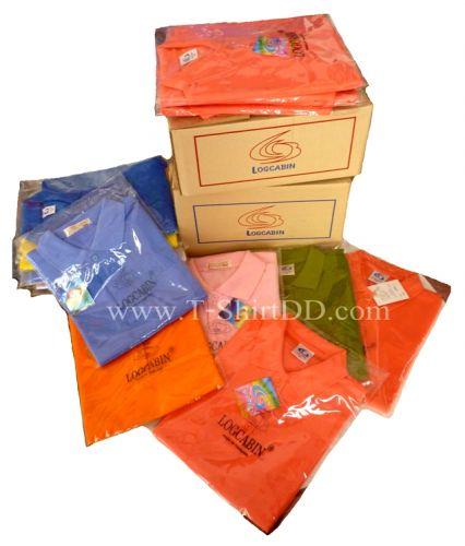Package  Logcabin เสื้อโปโล