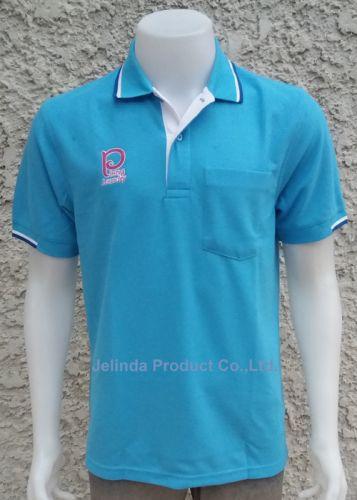 เสื้อโปโล สีฟ้า
