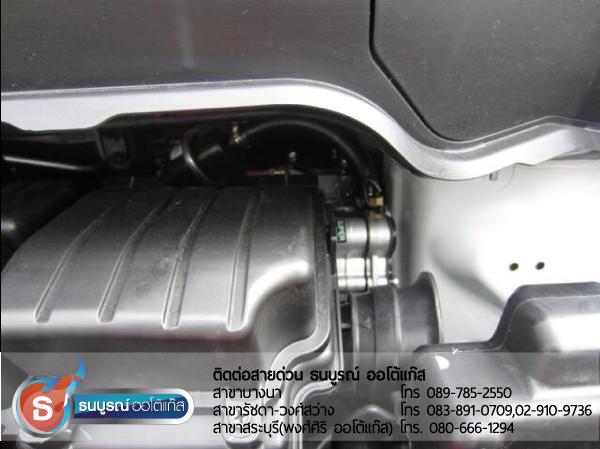 ตัวอย่างการติดตั้ง หม้อต้มในห้องเครื่องยนต์ภายใน Honda Freed ผลงานการติดตั้งระบบแก๊สหัวฉีด LPG สำหรับรถ HONDA Freed 2012  ป้ายแดง กับชุด Fast-Tech Pro ของ ENERGY-REFORM  พร้อมถังโดนัท 42 ลิตรใต้ท้อง โดยธนบูรณ์ ออโต้แก๊ส