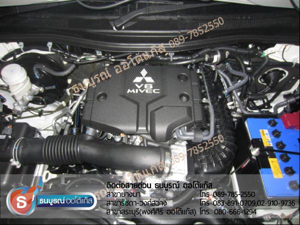 Mitsubishi Pajero Sport V6 3000 cc. ป้ายแดง กับชุด Advanced-OBD 6 สูบ ของ ENERGY-REFORM พร้อมถังโดนัท  51  ลิตร ใต้ท้องรถ โดยธนบูรณ์ ออโต้แก๊ส