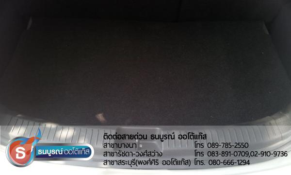 ติดแก๊ส Mazda 2 5 ประตู ถังแคปซูล โดยธนบูรณ์ ออโต้แก๊ส