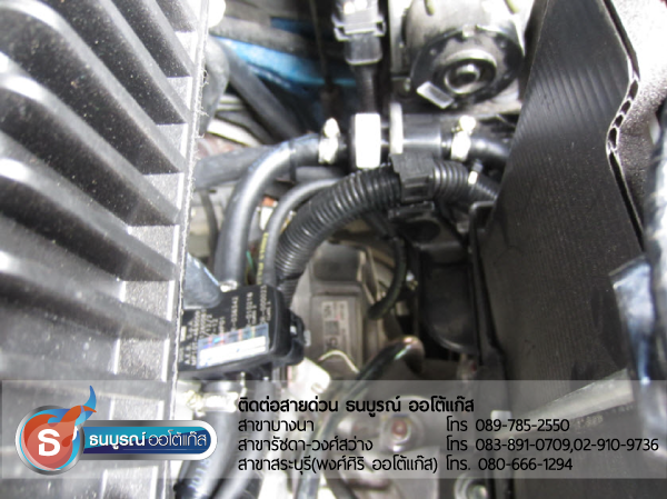 Mazda 2 รุ่น 4 และ 5 ประตู  โดยทั้ง 2 รุ่นได้ติด ชุด Fast-Tech Premium 4 สูบ ของ ENERGY-REFORM พร้อมถัง 58 ลิตรและ 37 ลิตร โดยธนบูรณ์ ออโต้แก๊ส