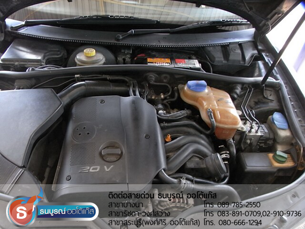 Volk Passart กับชุด Advanced-OBD ของ ENERGY-REFORM พร้อมถัง 58 ลิตร โดยธนบูรณ์ ออโต้แก๊ส