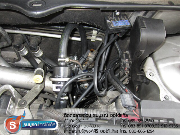 Volvo XC90 กับชุด Advanced-OBD 6 สูบ ของ ENERGY-REFORM พร้อมถังโดนัท 52 ลิตรใต้ท้องรถ โดยธนบูรณ์ ออโต้แก๊ส