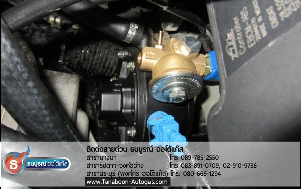 ตำแหน่งติดตั้ง หม้อต้มแก๊ส PRINS (REDUCER) ภายในห้องเครื่องยนต์ Review รีวิวผลงานตัวอย่างการติดตั้งระบบแก๊สรถยนต์สำหรับรถ Chevrolet CAPTIVA เครื่องยนต์ 2400 cc. 4 สูบ ติดแก๊ส LPG หัวฉีด ชุด Prins VSI อุปกรณ์นำเข้าจากเนเธอร์แลนด์ ติดถัง Donut 43 ลิตร ใต้ท้อง รับประกัน 5 ปี มัลติวาล์ว Energy Reform(Made in Italy) ลิตร โดย ธนบูรณ์ ออโต้แก๊ส