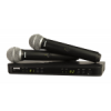 SHURE BLX288A/PG58 R12 ไมโครโฟนไร้สาย BLX Dual Channel Handheld System with PG58