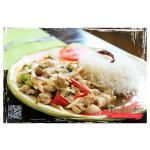 Thailander Spicy Basil with Steamed Rice