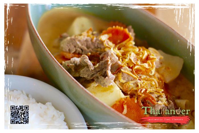 Thailander Massaman Curry