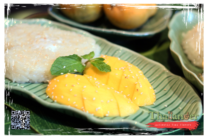 Thailander Sticky Rice with Mango (Seasonal)
