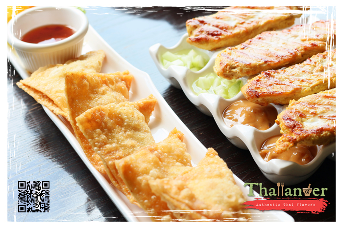 Thailander Crab Rangoon