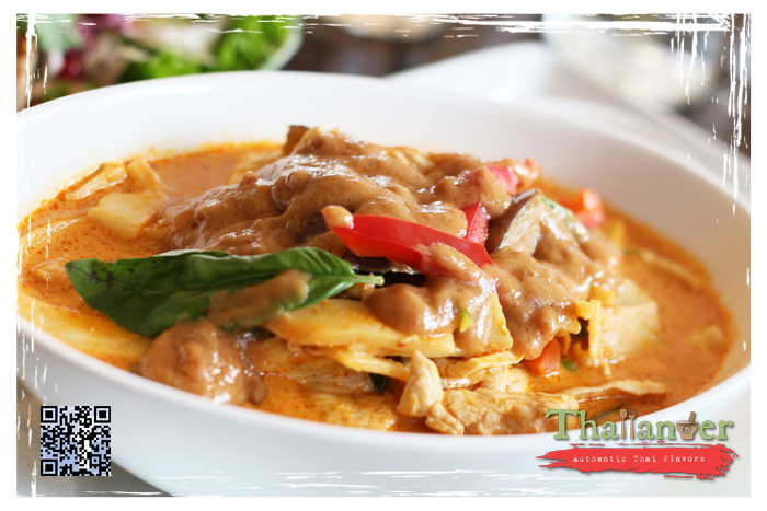 Thailander House Special Curry