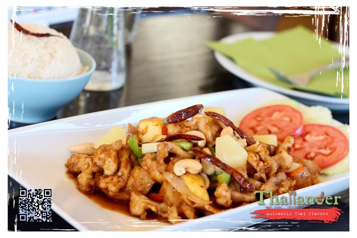 Thailander Tropical Cashew Crispy Chicken