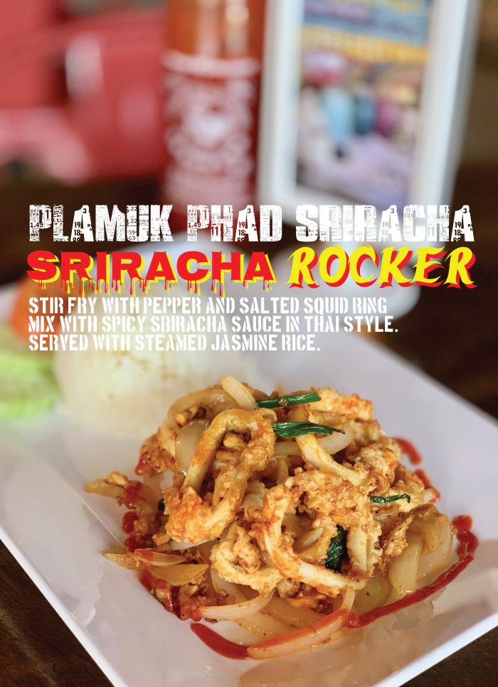 Thailander Sriracha Rocker
