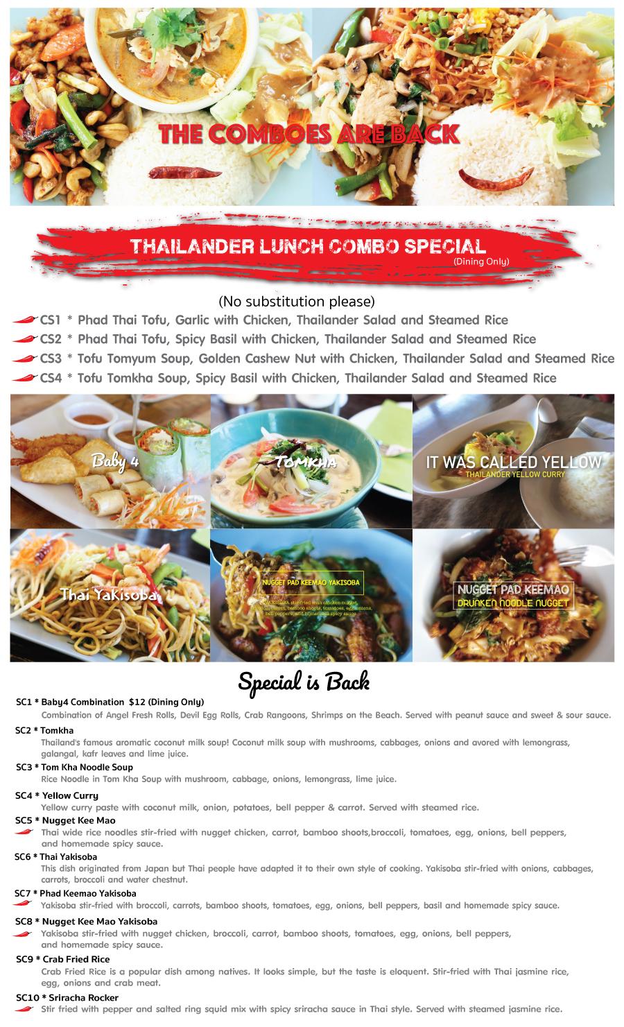 Thailander Special