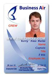 บัตรพนักงาน business air