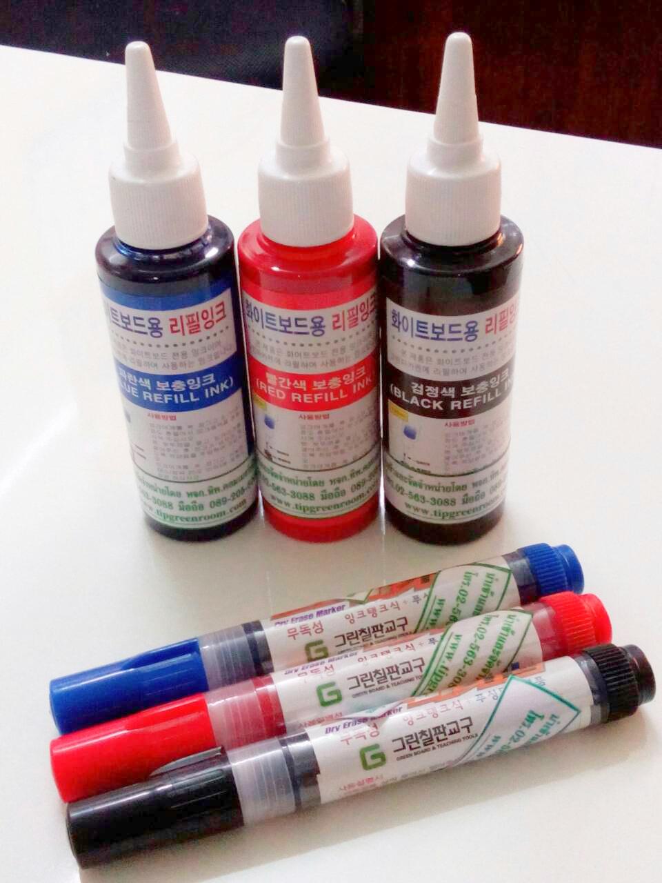 ปากกาไวท์บอร์ดปลอดสารพิษ