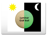 Luminescent Golf Ball