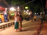 ถนนคนเดินที่ เกาะหลีเป๊ะ