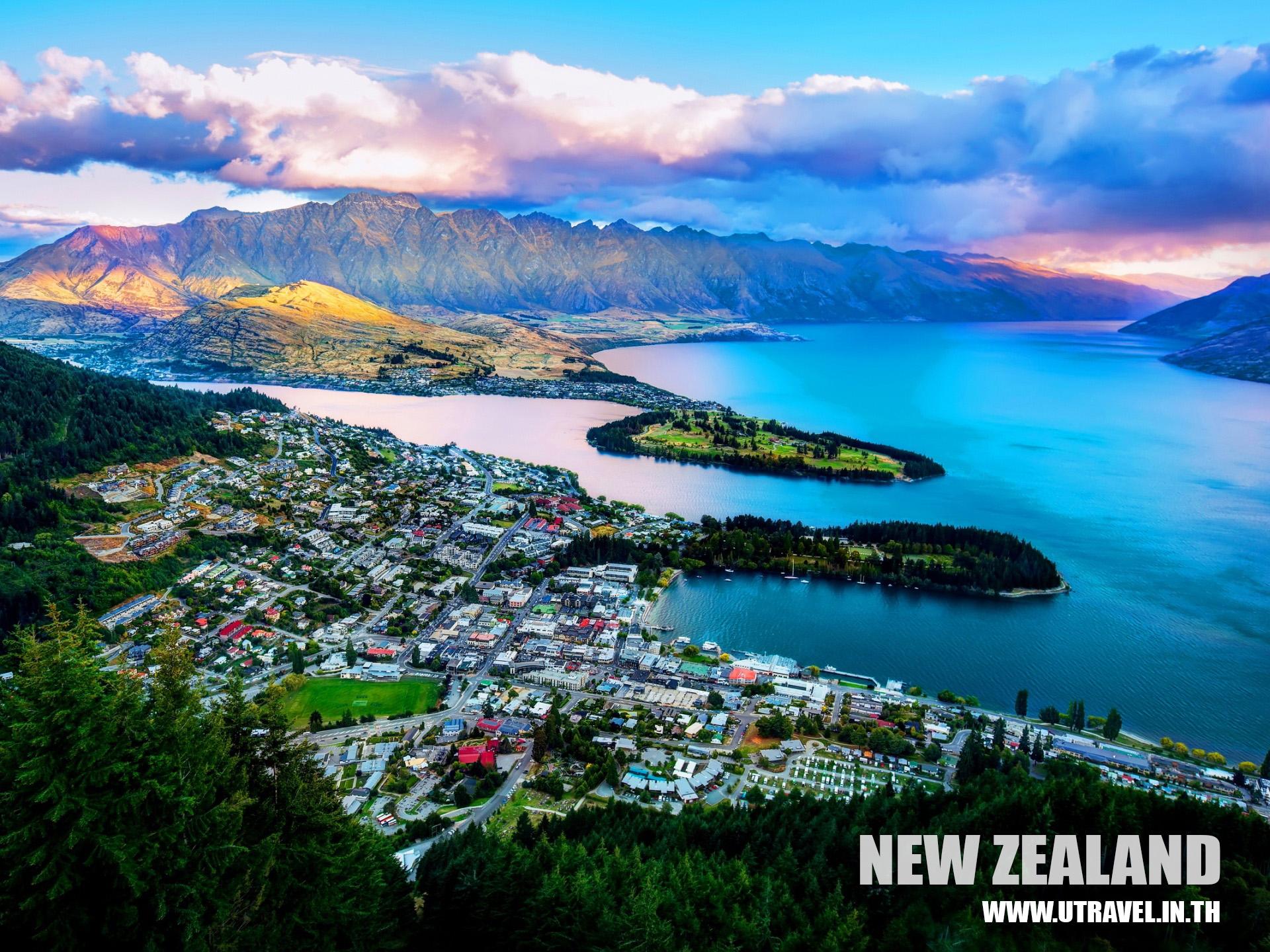 ทัวร์นิวซีแลนด์โรแมนติกเกาะใต้ 7 วัน 5วัน
