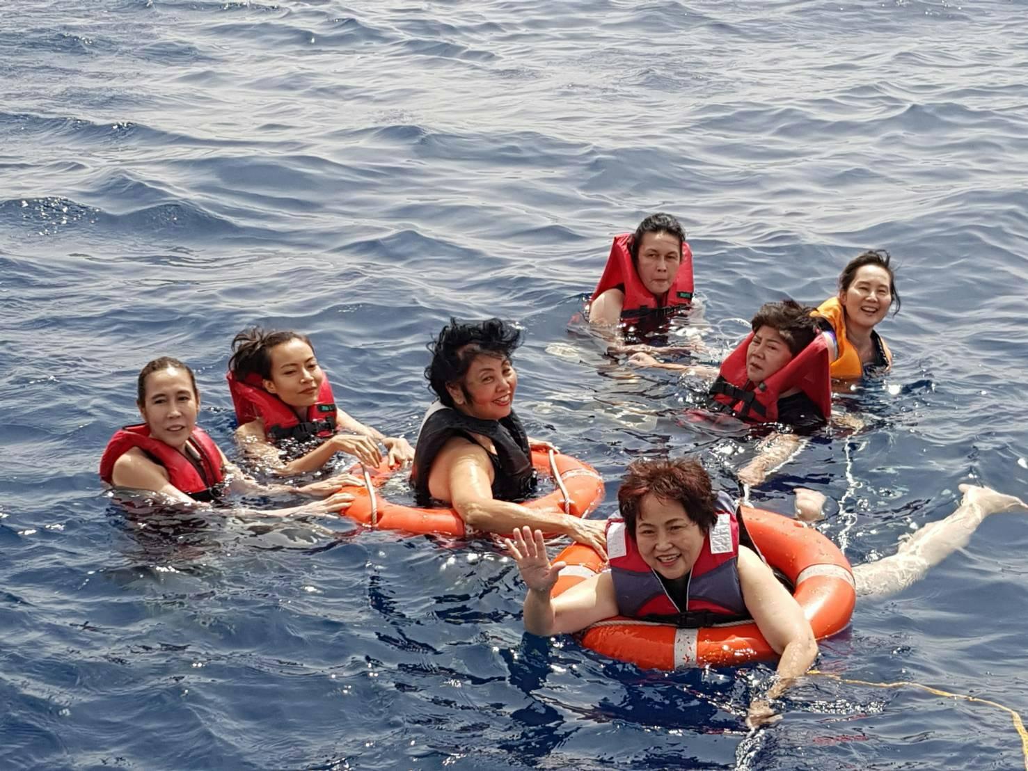 ดำน้ำ ดูปะการัง ที่ทะเลแดง Read Sea