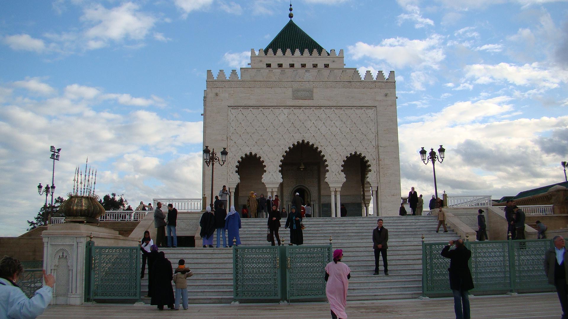 สุเหร่า โมฮัมเหม็ด ที่ 5 เมืองราบัต ประเทศ โมรอคโค