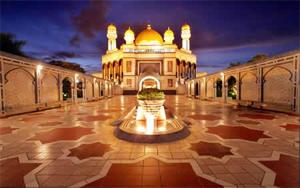 ����Դ�ͧ�� Jame Asr Hassanil Bolkiah Mosque