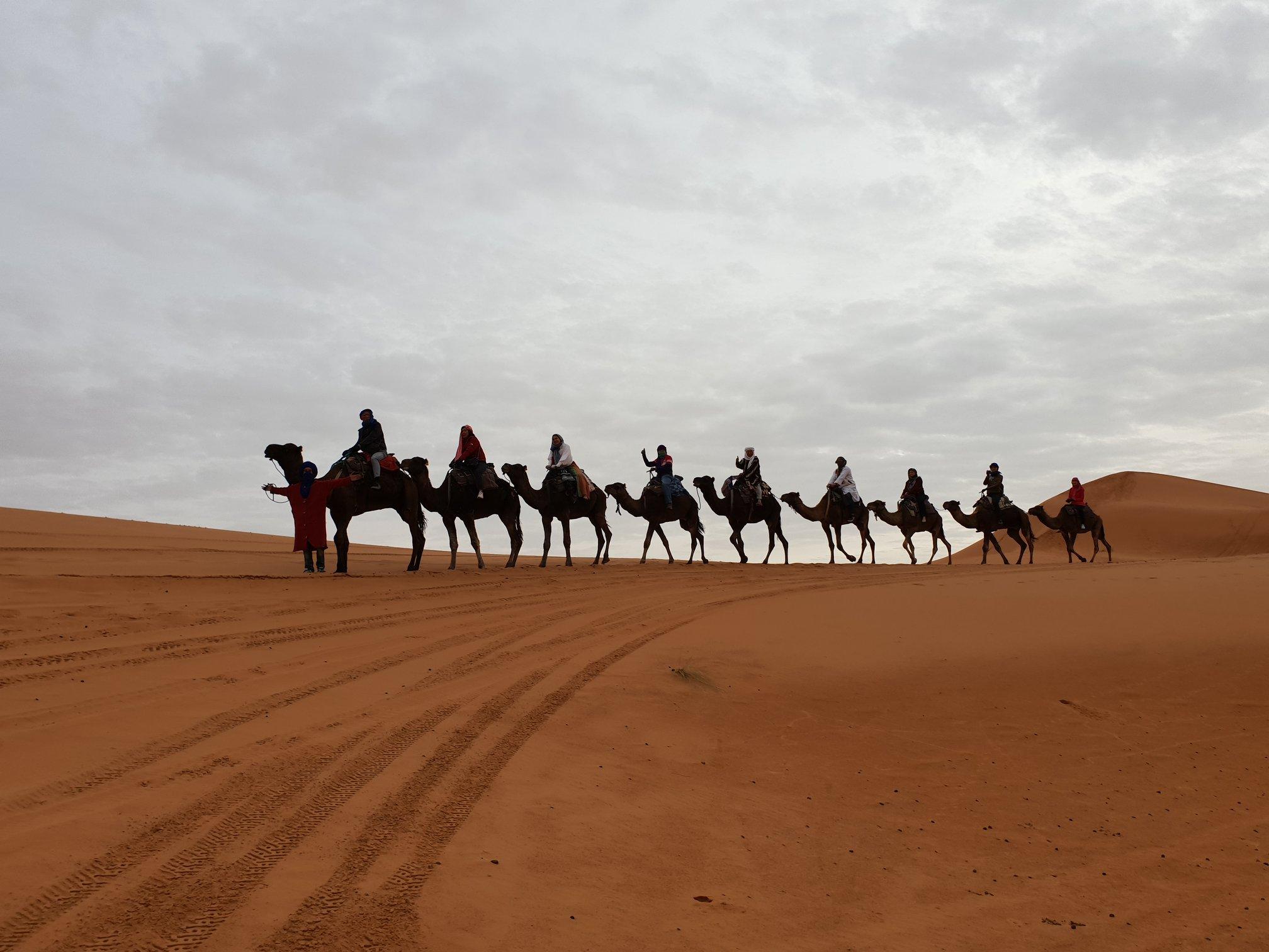 ทัวร์โมรอคโค ขี่อูฐทะเลทราย ซาฮาร่า