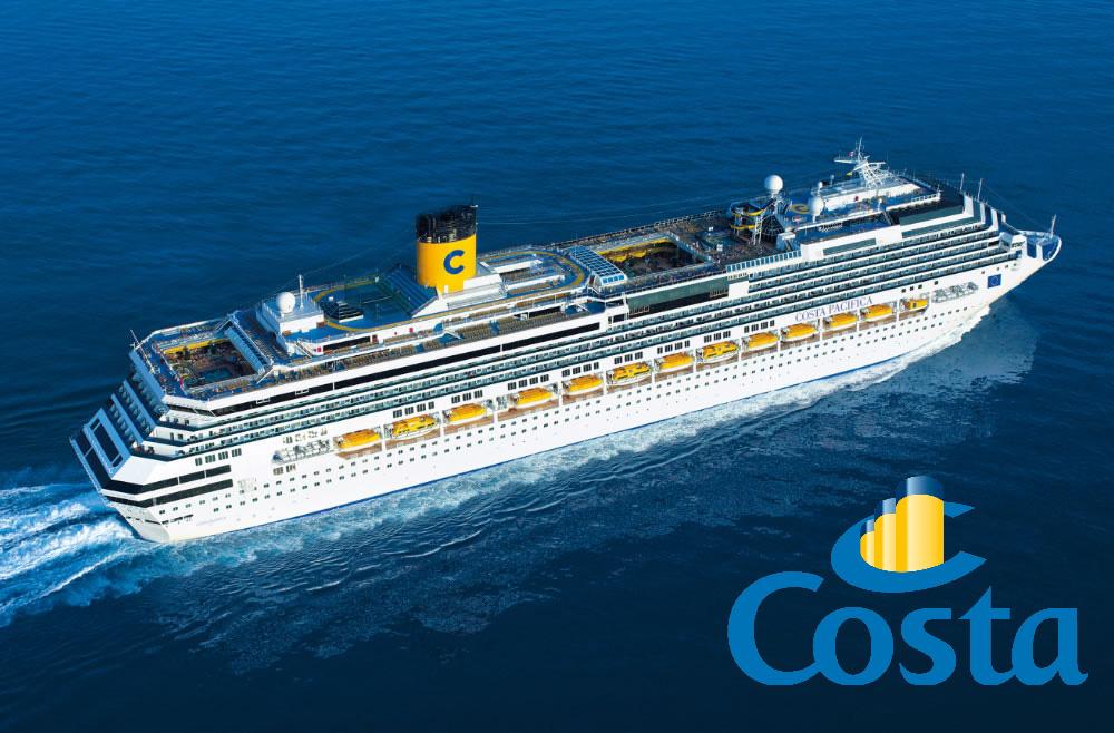 ทัวร์เรือสำราญ คอสต้า ครูซ  Costa Cruises