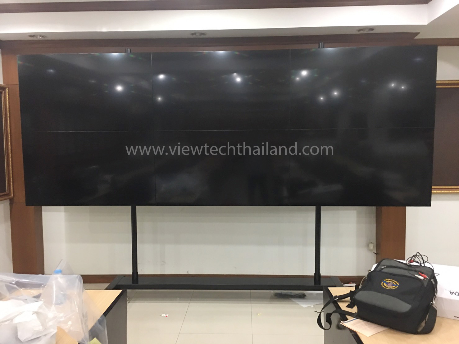 video wall, ขาตั้งทีวี, led stands,วิวเทค,viewtech, ขาตั้งจอled