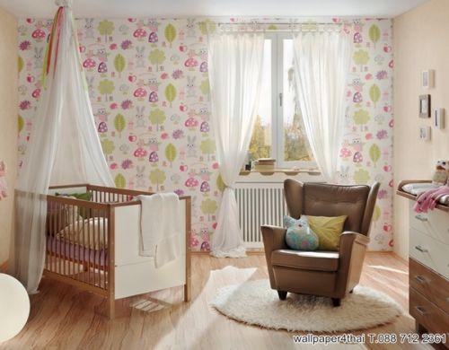 wallpaper วอลเปเปอร์น่ารัก แต่งห้องนอนเด็ก